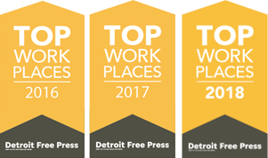 Best Places to Work 2016-2018